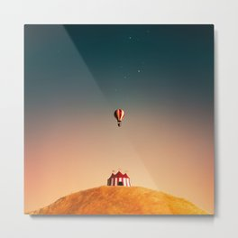 Circus and also the Balloon Metal Print