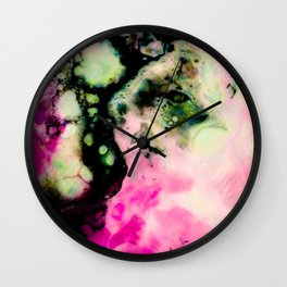 """""""Breathing Life"""" by Angelique G. Wall Clock"""