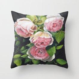 EDEN ROSE Throw Pillow