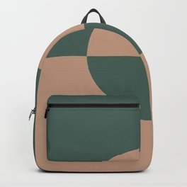 Sand Storm Beige Dark Green Circle Design 2 Behr 2021 Color of the Year Canyon Dusk Equilibrium Backpack
