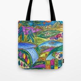 Heliades Valley Tote Bag