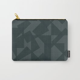 grey pattern // geometric Carry-All Pouch