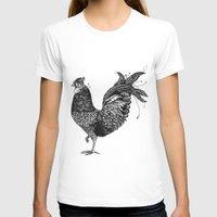 chicken T-shirts featuring Chicken  by Aubree Eisenwinter