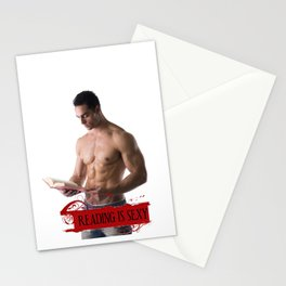 Reading Is Sexy Stationery Cards