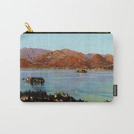 Stresa Borromeo Lake Maggiore 1927 Carry-All Pouch