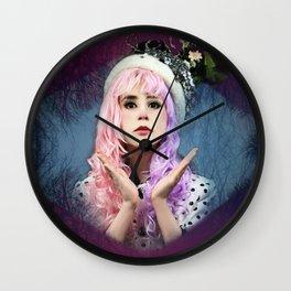 Polk-a (A self played OC) Wall Clock