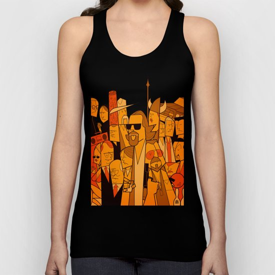 The Big Lebowski Unisex Tank Top