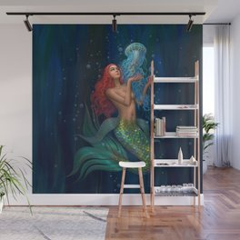 Beautiul mermaid Wall Mural
