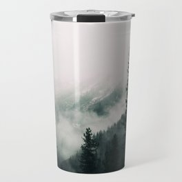 Over the Mountains and trough the Woods -  Forest Nature Photography Travel Mug