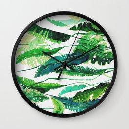 tropical compilation horiz. Wall Clock