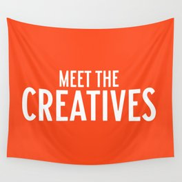 Meet the Creatives Wall Tapestry