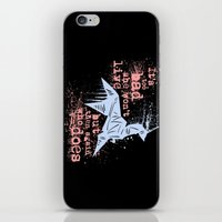 blade runner iPhone & iPod Skins featuring Blade Runner Unicorn by Joe Badon