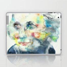 HORATIO NELSON - watercolor portrait Laptop & iPad Skin