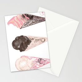 Buy One Get Two Free Ice Creme Illustration  Stationery Cards
