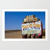 Entrance to Salvation Art Print