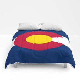 Colorado State Flag Comforters