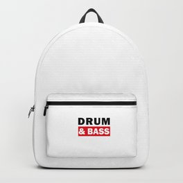 Drum And Bass Backpack