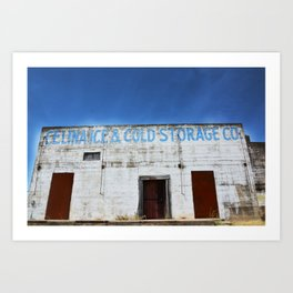 Cold Storage Art Print