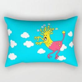 Riding the Mood Beast Rectangular Pillow
