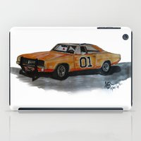 general iPad Cases featuring General Lee by AshyGough