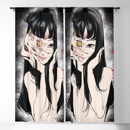 Tomie Junji Ito Minimalist anime Poster  Blackout Curtain