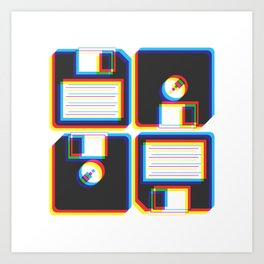Outdated As Fuck Art Print