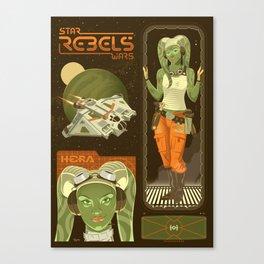 Rebel 3: Hera Syndulla Canvas Print