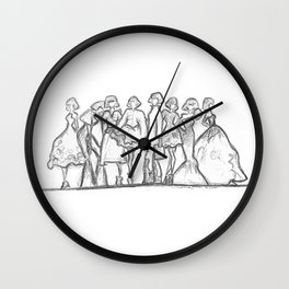 runway daze Wall Clock