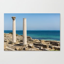 ruined temple in Sicily Canvas Print