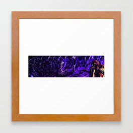 Metroid Metal: The Brood Framed Art Print