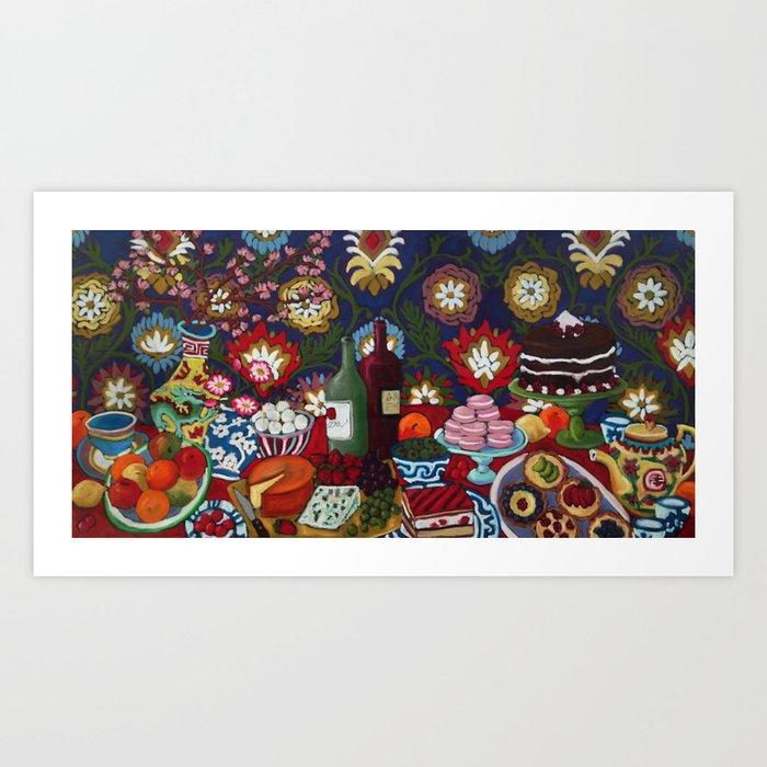 Tablescape Kunstdrucke