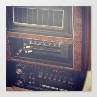radio Canvas Prints featuring radio by awelartist