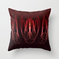 math Throw Pillows featuring Invisible Math by Rabassa