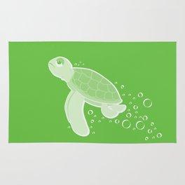 Apathetic Turtle Rug