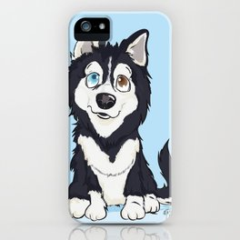 Pet Cartoon Ilustrattion / Pet Portraits iPhone Case