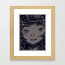 Beaten Shark Framed Art Print