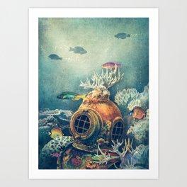 Seachange Art Print