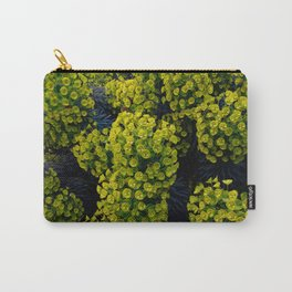 Euphoric Euphorbia Carry-All Pouch