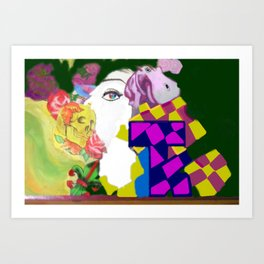 Jesse to John Art Print