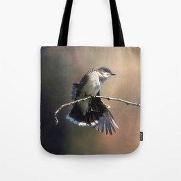 Eastern King Bird Tote Bag