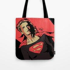 Girl of Steel Tote Bag