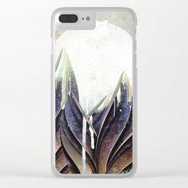 My magical beans garden Clear iPhone Case
