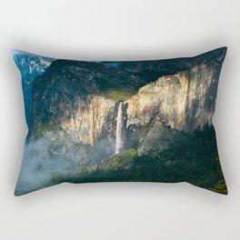 Bridalveil Fall ~ Yosemite National Park  Rectangular Pillow