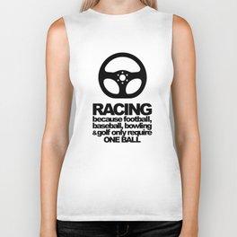 Racing Quotes Biker Tank