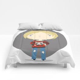 Cat Cobain Comforters
