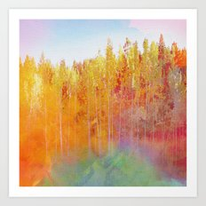 Enchanted Scenery 2 Art Print