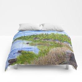 Chinon France Comforters