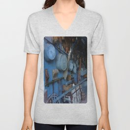 Blue Americana Collection Unisex V-Neck