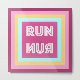 Run-nur Metal Print