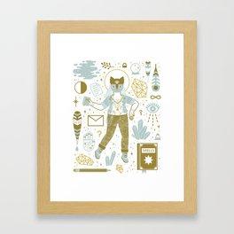 The Scholar Framed Art Print